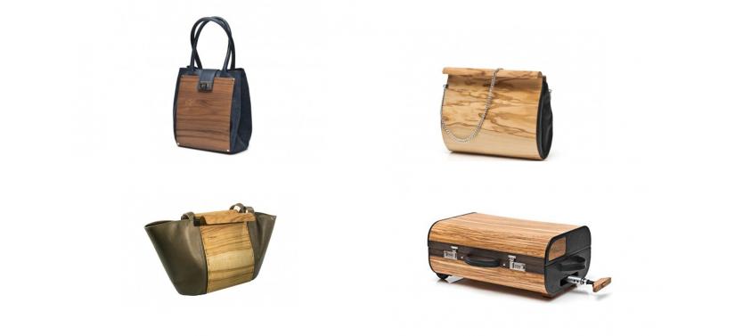 V-center Сочетание дерева и натуральной кожи в сумках от Embawo