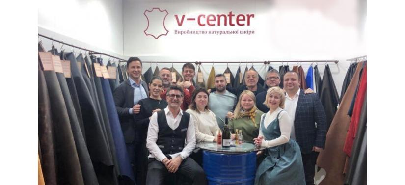 V-center Продукція V-center привернула увагу на міжнародній виставці в Італії