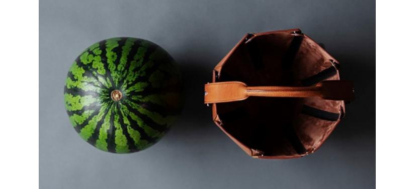 V-center Летний аксессуар — сумку для арбуза из натуральной кожи