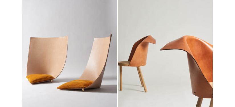 V-center Уникальная мебель из кожи растительного дубления